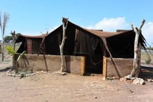 notre tente berbère à l'Ane Vert