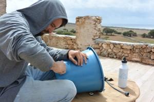 installation d'un filtre pour la communauté de Tafedna