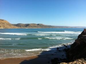 Imessouane, et son magnifique spot de vagues à longboard