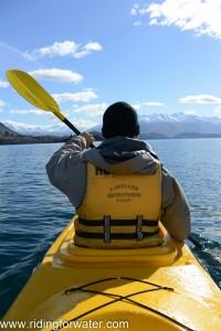 Kayak sur le lac Wanaka