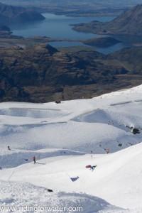 GG dans le banked Slalom de Treble Cone