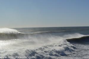 Les vagues de la mer de Tasmanie...