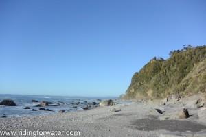 Retour a Okarito à marée basse