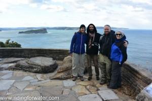 Avec Richi et Yolanda aux alentours de Sydney