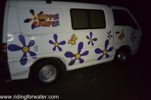 OH my GOOOD, notre van est démonté!!